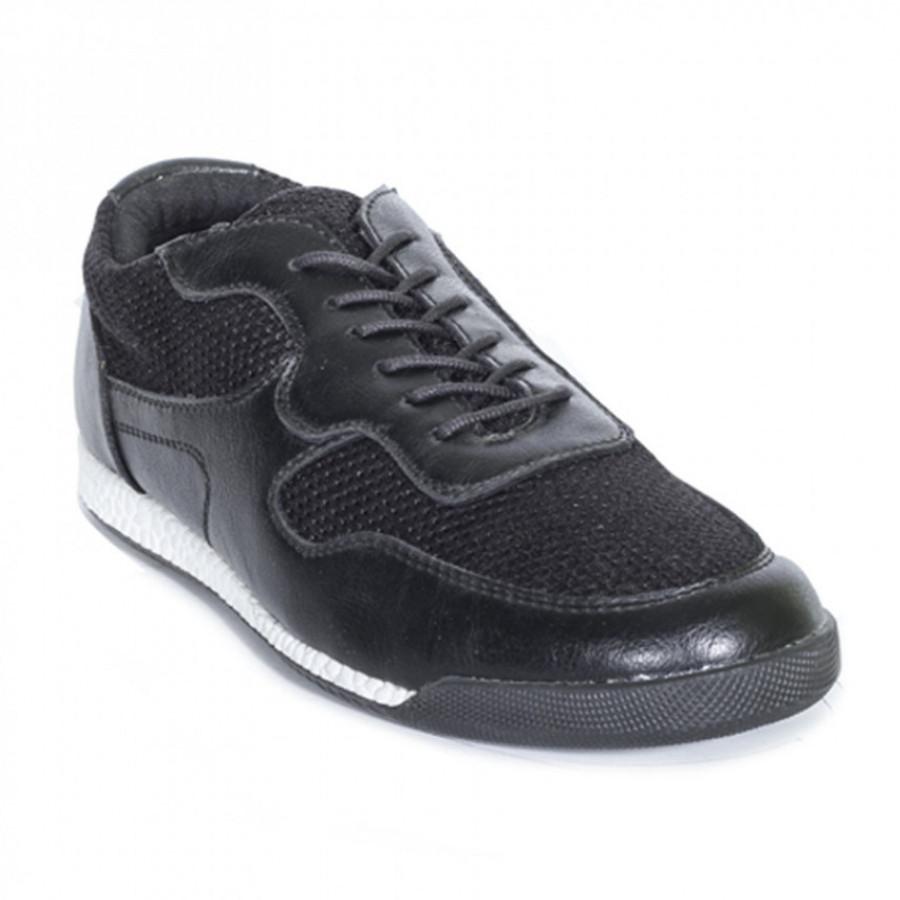 Lvnatica Sepatu Pria Kasual Dagger Black Sneakes Shoes