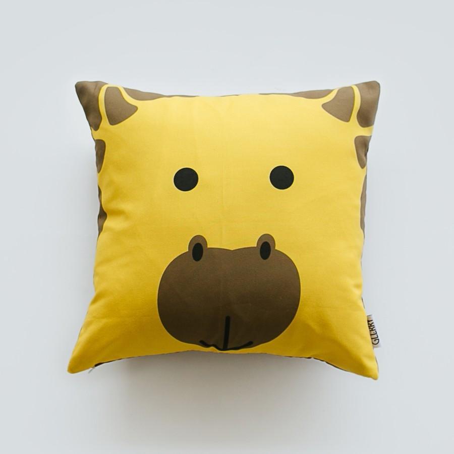 High As A Giraffe Cushion 40 x 40