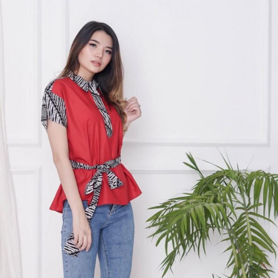 Batik Dirga Mira Atasan Wanita / Blouse Batik