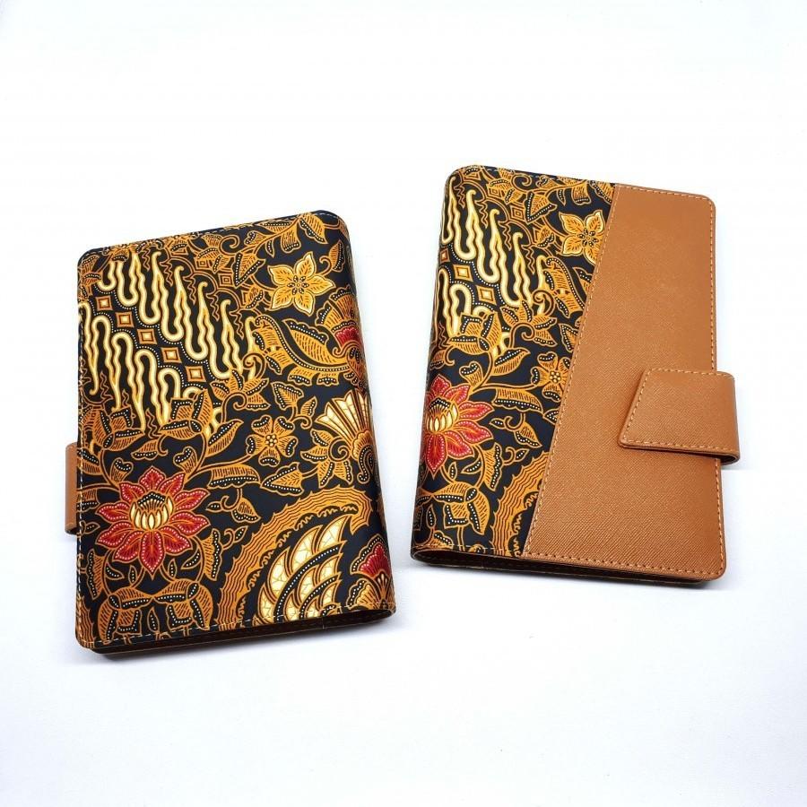 Agenda Batik B6 Souvenir Brown Diego
