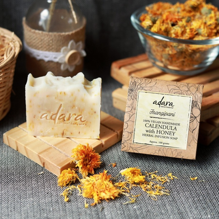 Adara Organic Calendula with Honey Soap