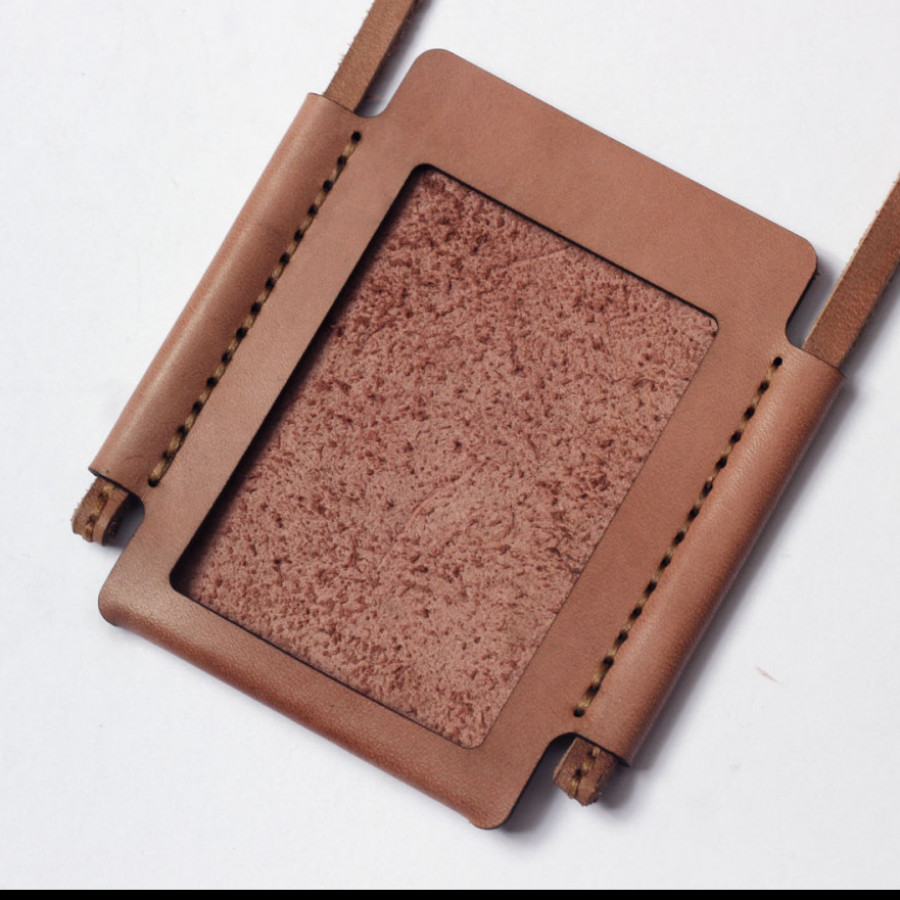 ID Card Holder - Salem/fade pink