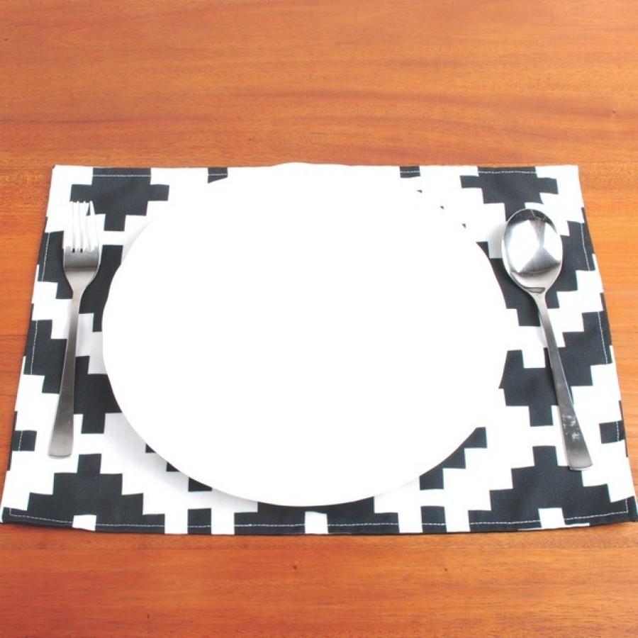 Placemat Cubes 30 x 40