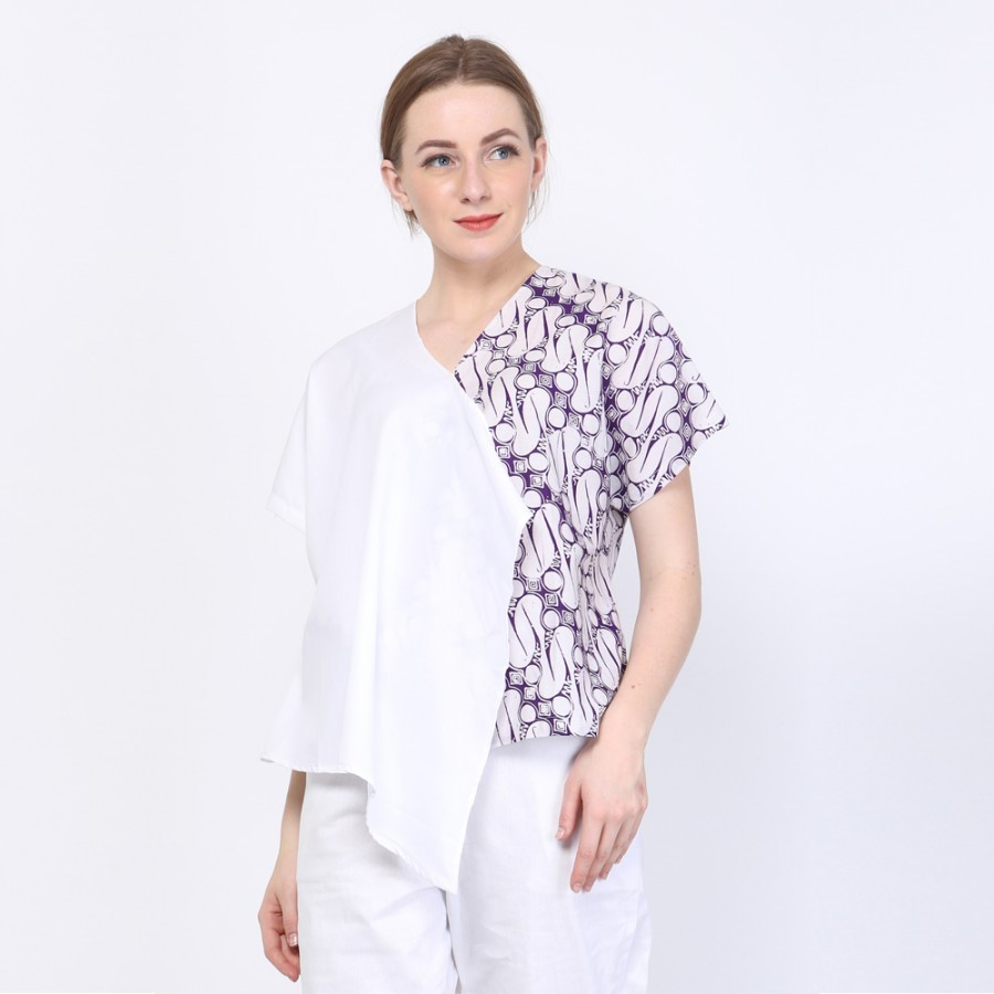 Batik Dirga Elara Atasan Wanita / Blouse Batik