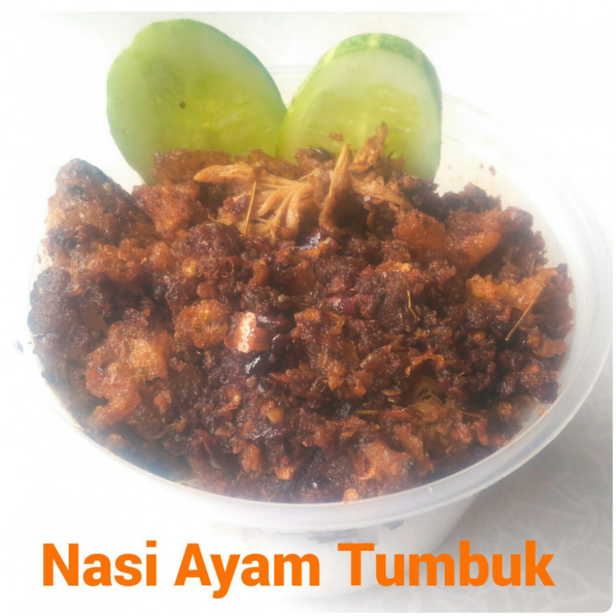 Nasi Ayam Tumbuk