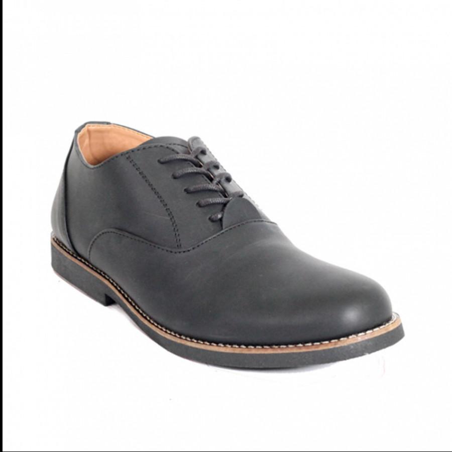Lvnatica Sepatu Pria Pantofel Dembble Black Formal Shoes
