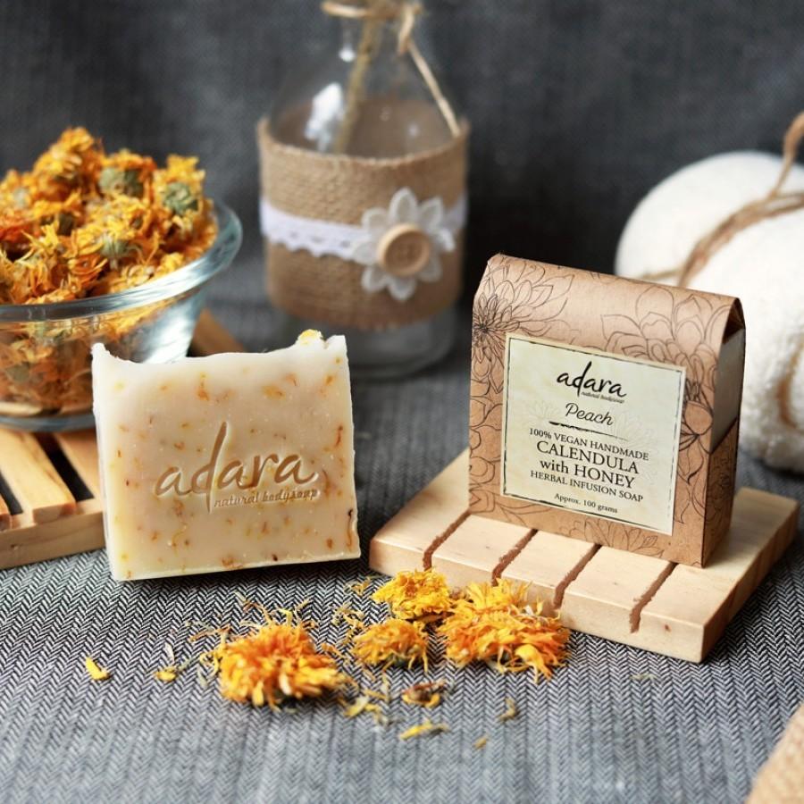Adara Organic Calendula with Honey Soap