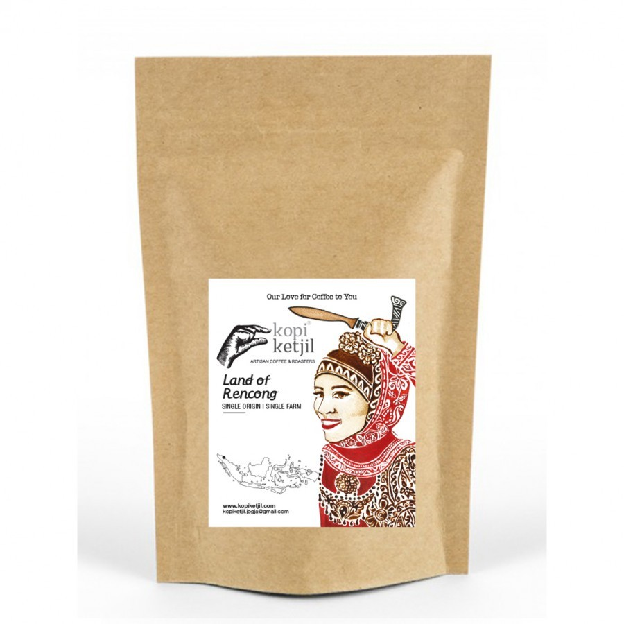 Land of Rencong Ground Coffee Beans