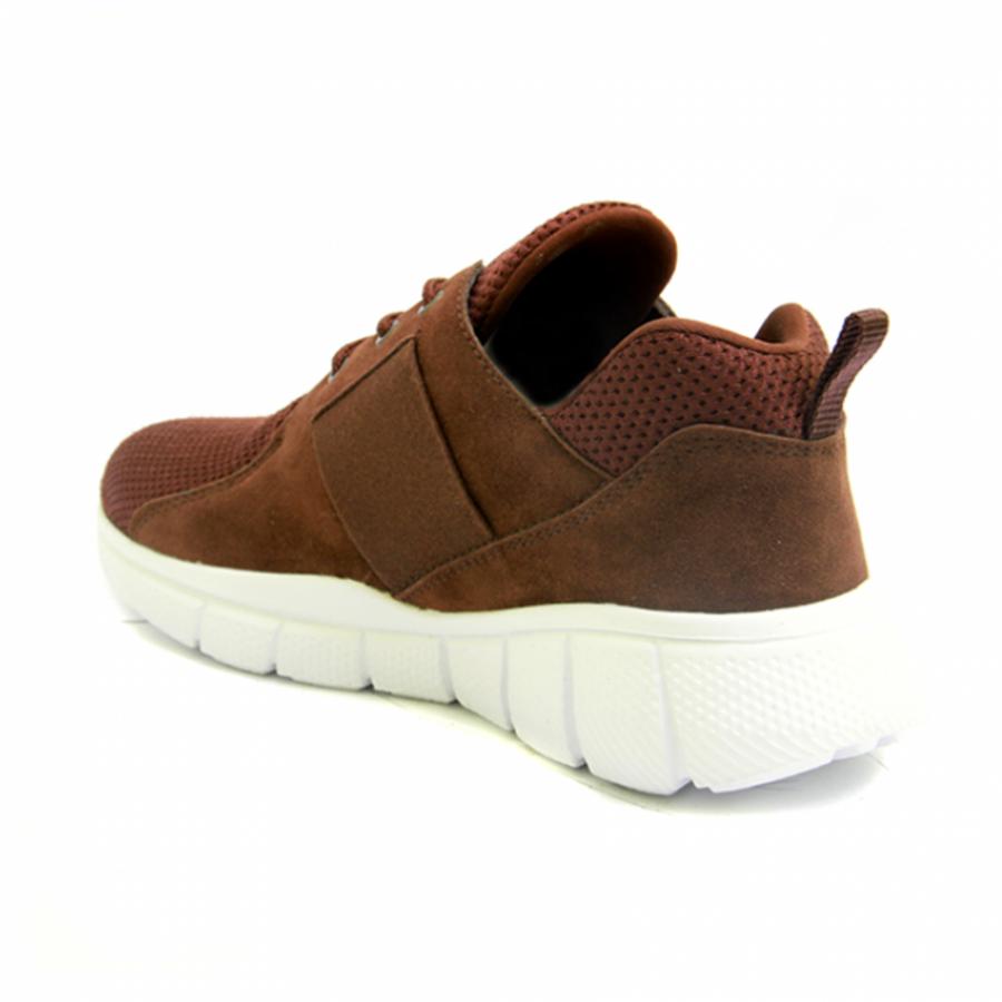 Lvnatica Sepatu Pria Kasual Flavio Brown Sneakers Shoes