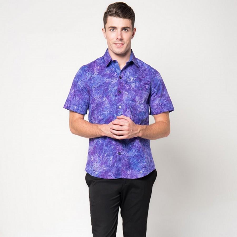 [Arthesian] Kemeja Batik Pria - Batox Batik Cap