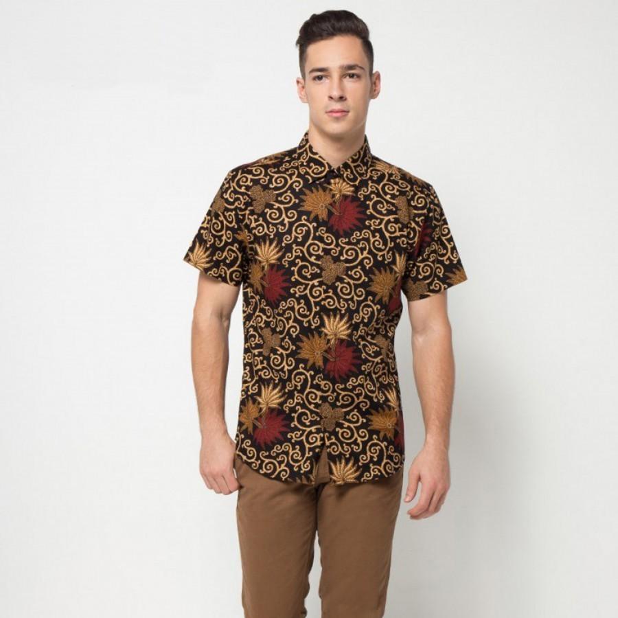 [Arthesian] Kemeja Batik Pria - Bush Batik Printing