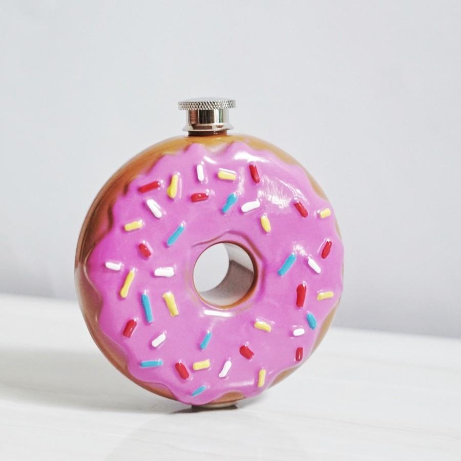 Donut Hip Flask
