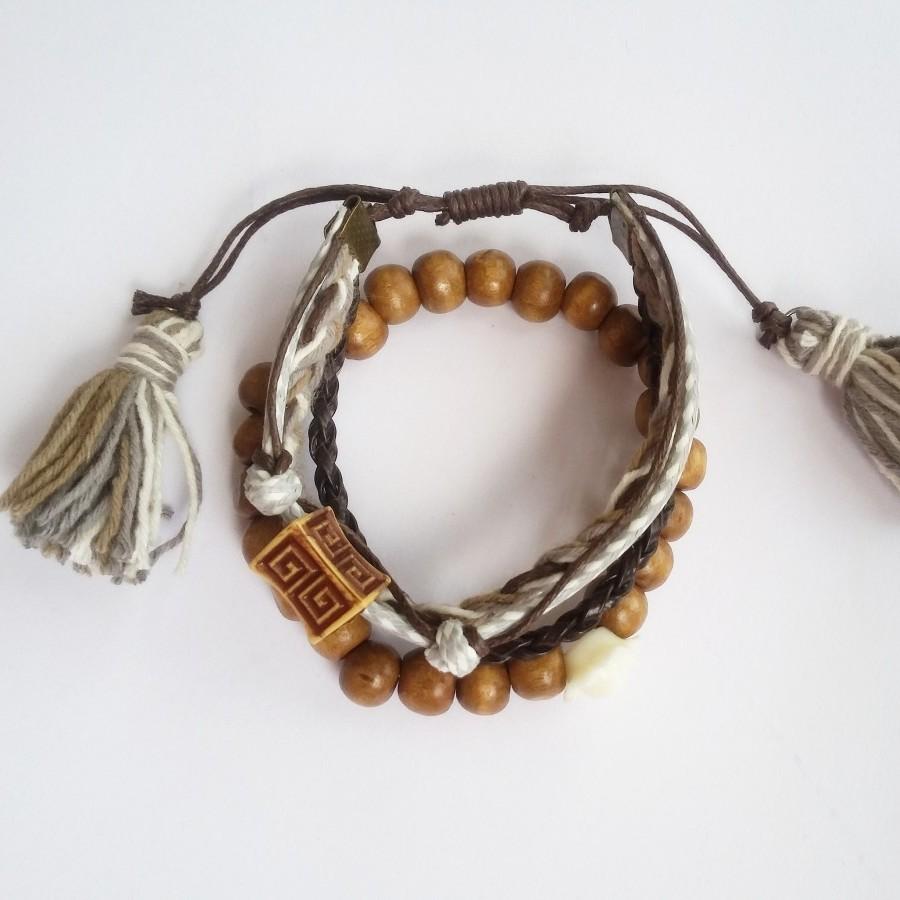 Whimsy Mix Bracelet Gelang Handmade