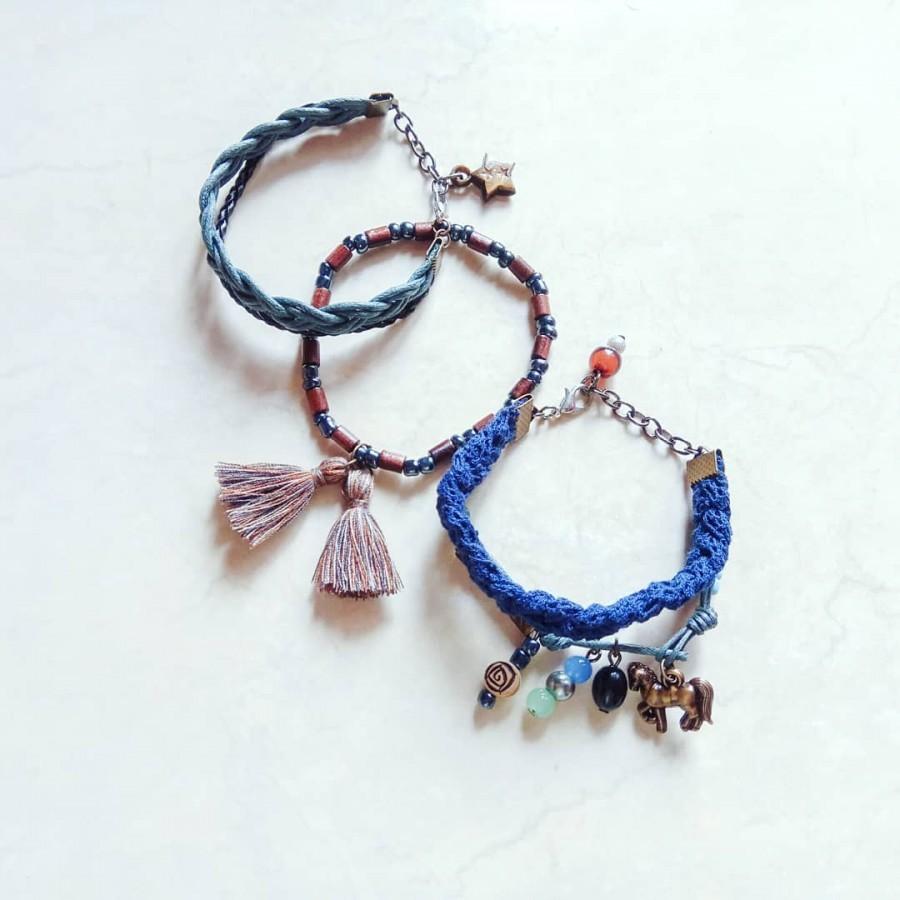 Luna Earring Anting Handmade