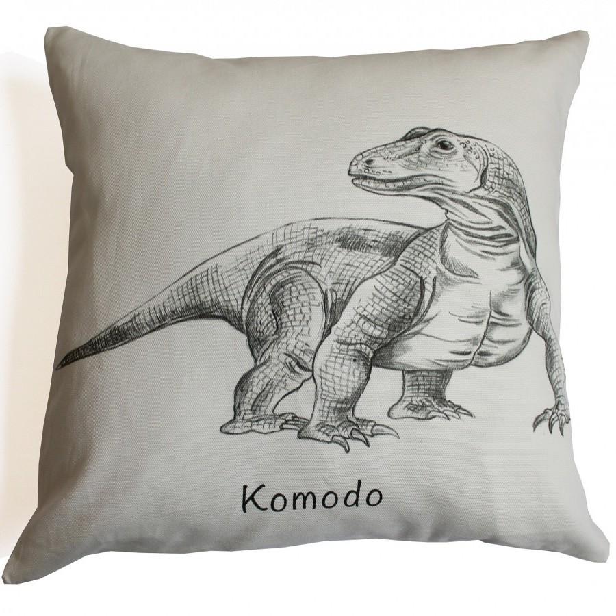 Cotton Canvas Cushion Cover Komodo