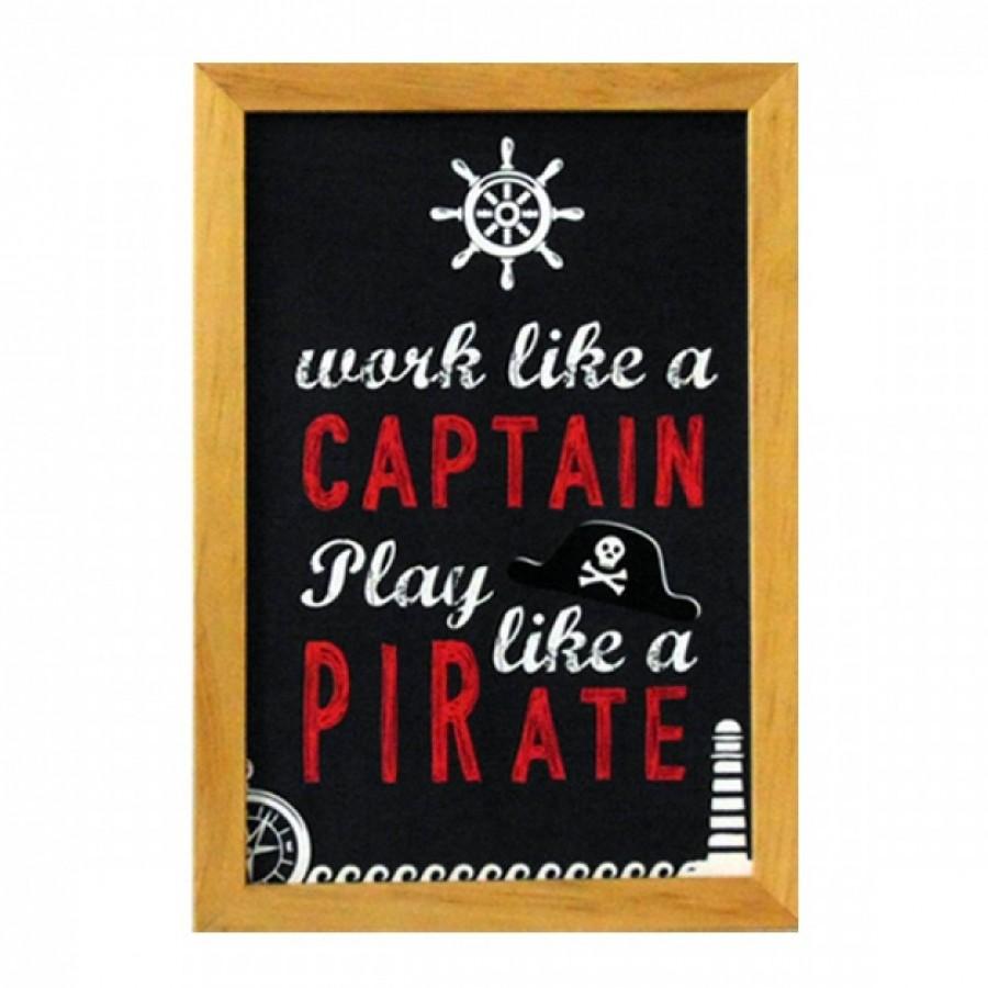Hiasan Dinding Popliving Nautical Work Like Captain