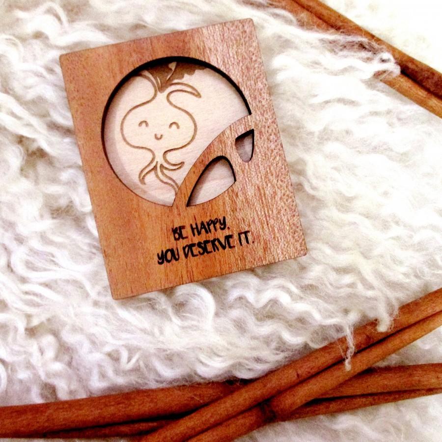 Vegetable Wooden Magnet