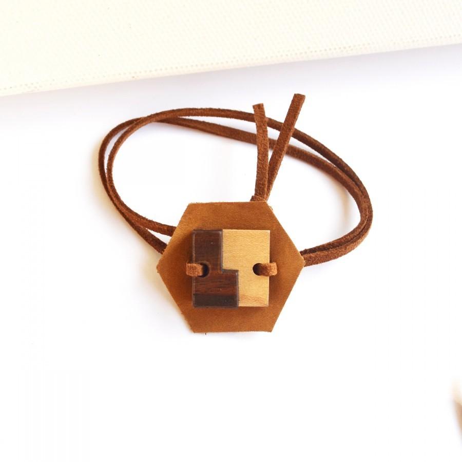 Recycle Leather Bracelet III