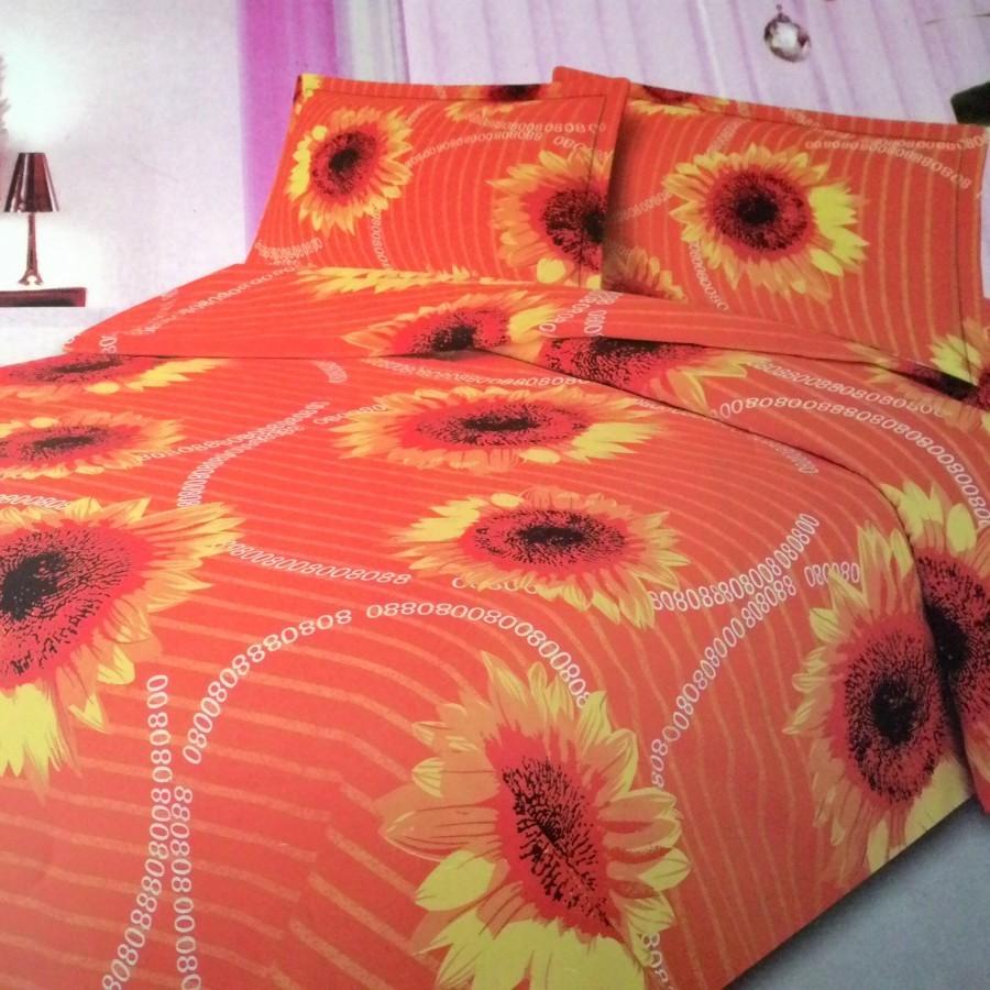 Seprei Rosalia Sun Flower - Orange uk.160 cm