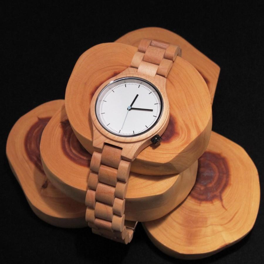 SENECA - Wood Watch / Jam Tangan Kayu Unisex