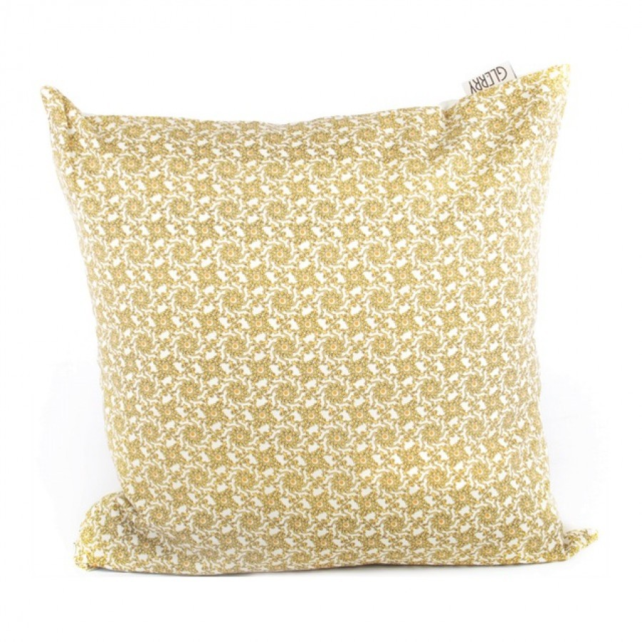Yellow Chevron Cushion 45 x 45