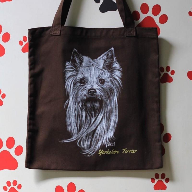 Drawing Totebag - Yorkshire Terrier