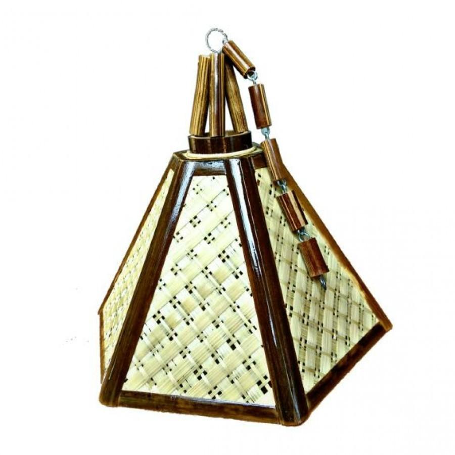 Lampu Gantung Bambu Unik