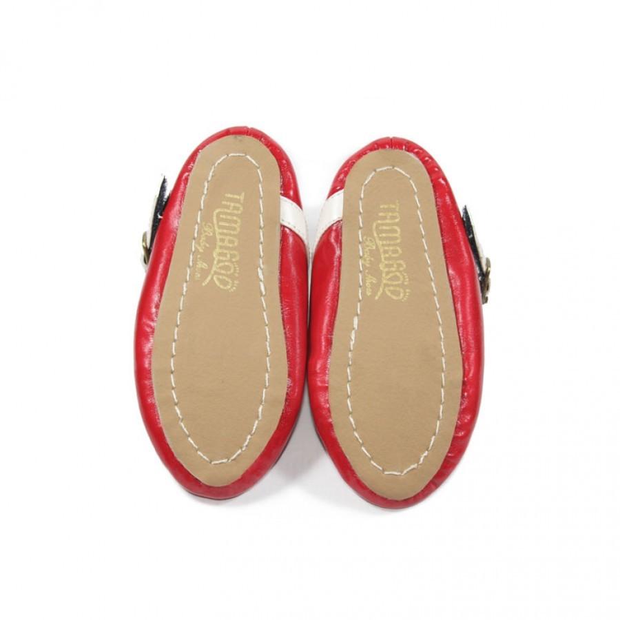 Sepatu Bayi Perempuan Tamagoo Jessica Red Baby Shoes Prewalker Murah Laki Marc Black