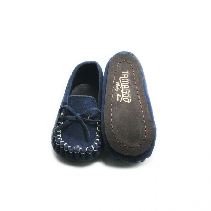Tamagoo Sepatu Bayi Laki Baby Shoes Prewalker Marc Navy Masson Silver  Branded 3 6 Bulan Murah