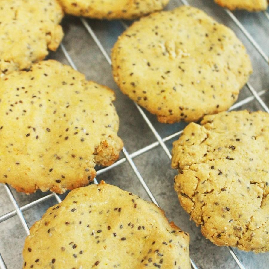 Vegan Lemon Chia Cookies