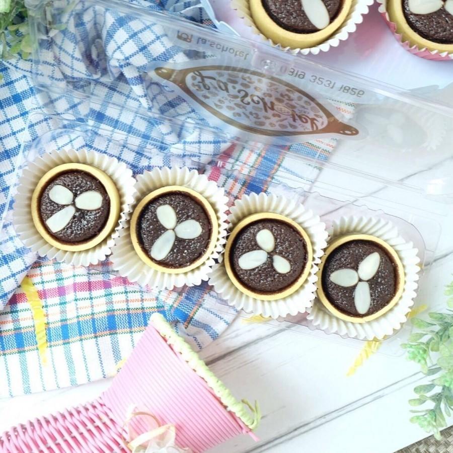Dark Chocolate Cake Pie