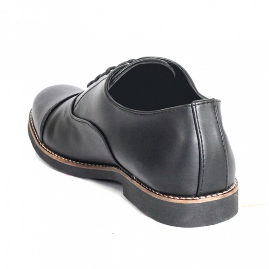 Lvnatica Sepatu Pria Pantofel Dante Black Formal Shoes