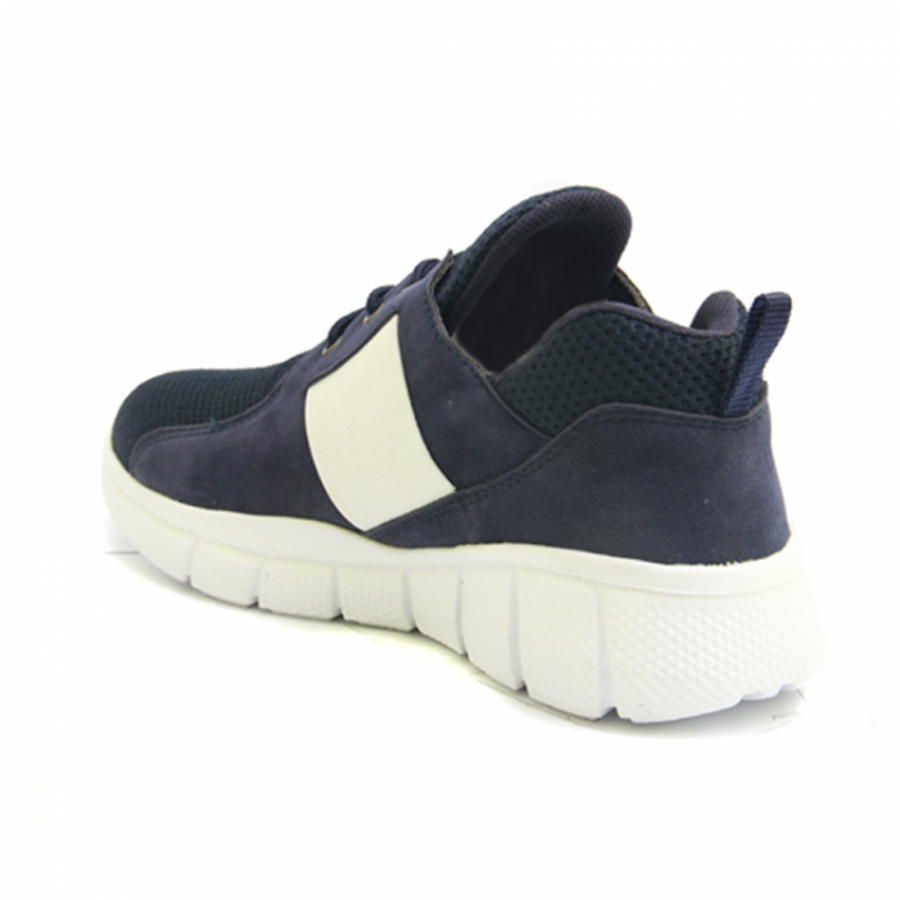Lvnatica Sepatu Pria Kasual Flavio Navy Sneakers Shoes