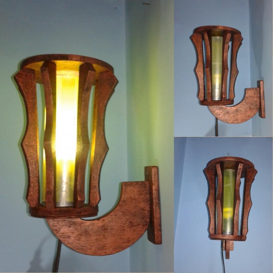 Lampu Dinding Lampu Teras Lampu Tidur LD01 Warna KUNING
