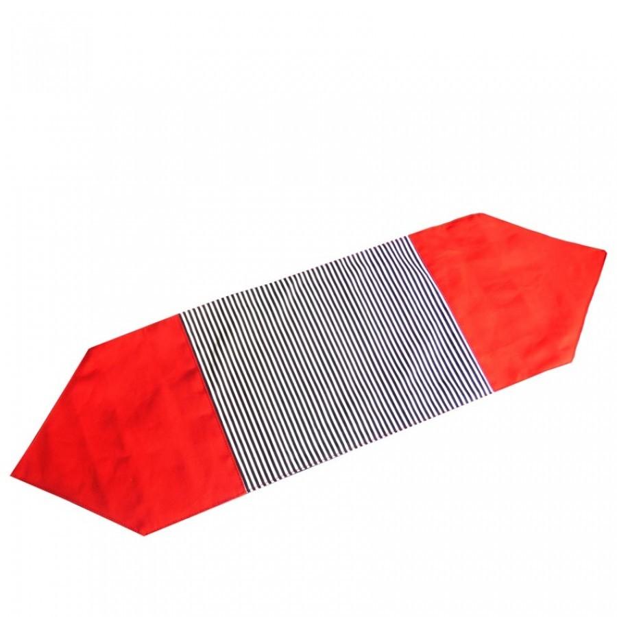 Kalasa Table Runner Merah Garis