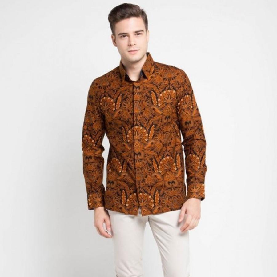[Arthesian] Kemeja Batik Pria - Apec Batik Printing