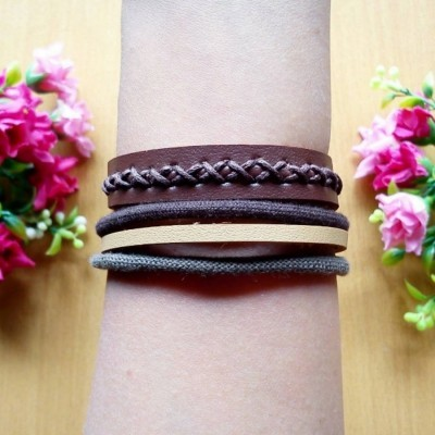 gelang-leather-army
