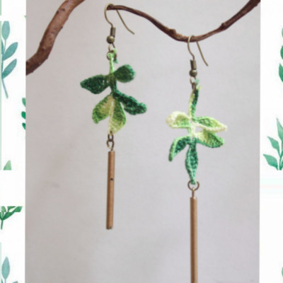 leaves-earrings