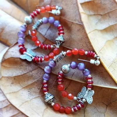 priya-loop-earing-red