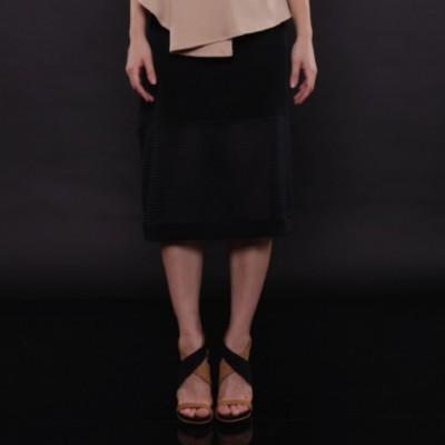 stripe-midi-skirt