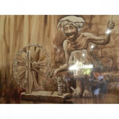 lukisan-tradisional-bali-motif-nenek-100071