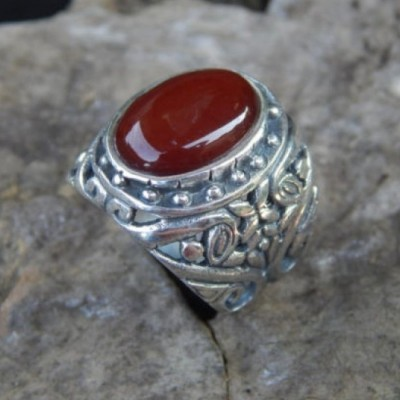 cincin-perak-motif-ukiran-bali-batu-cornelian-oval-100131