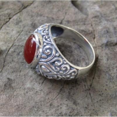 cincin-perak-motif-ukiran-bali-patra-batu-cornelian-100319