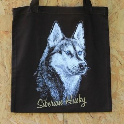 drawing-totebag-siberian-husky