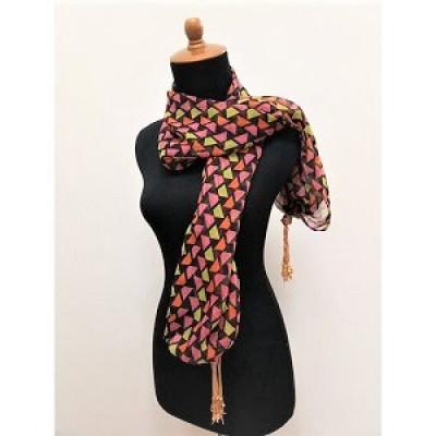 gesyal-syal-travelling-sifon-triangle-red-box-scarf-wanita
