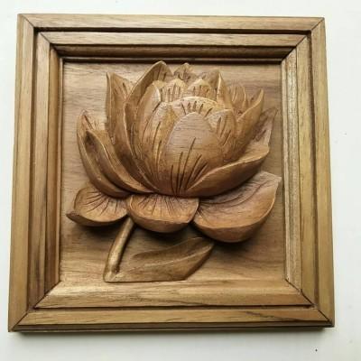 hiasan-dinding-panel-kecil-motif-bunga-teratai