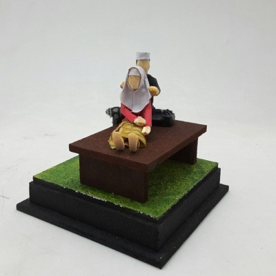 diorama-muslim-series-memijat-ibu