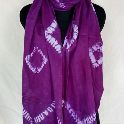 scarf-shibori-ungu