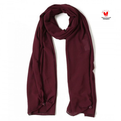 gesyal-scarf-sifon-polos-magenta.-tidak-kusut-bahan-halus