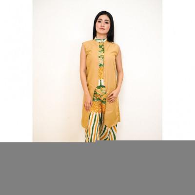 gesyal-crop-bawah-kulot-batik-tunik-setelan-pakaian-wanita-mustard-hijau